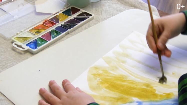 Світ у картинах художників. Розглядаємо картини і малюємо зиму