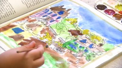 Світ у картинах художників. Розглядаємо картини й збагачуємо уявлення про місто й село